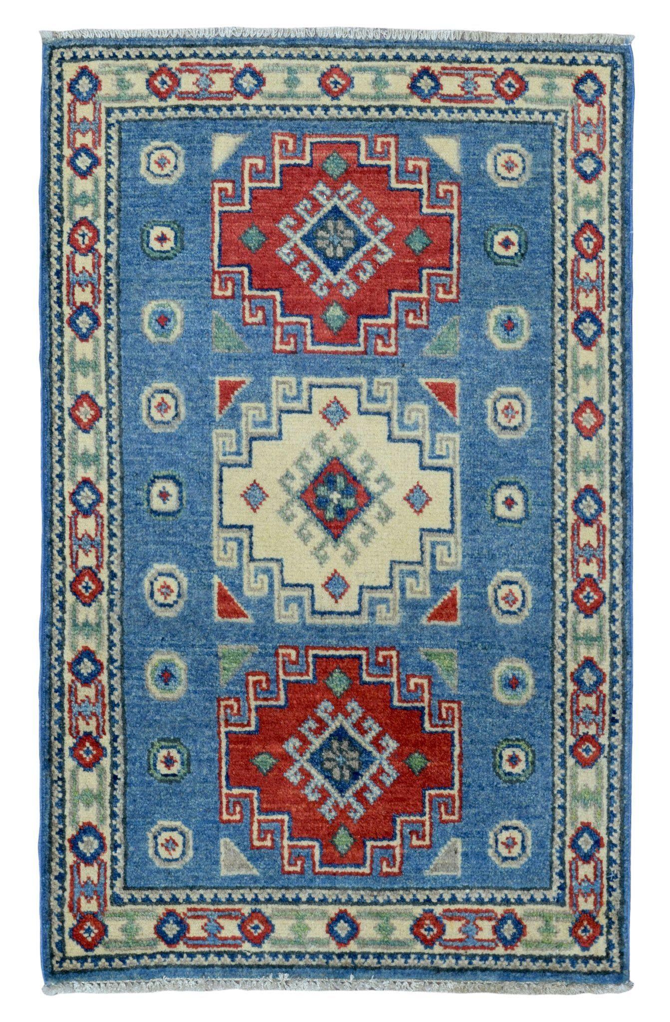 Kazak Small Oriental Rug 2'X3'2