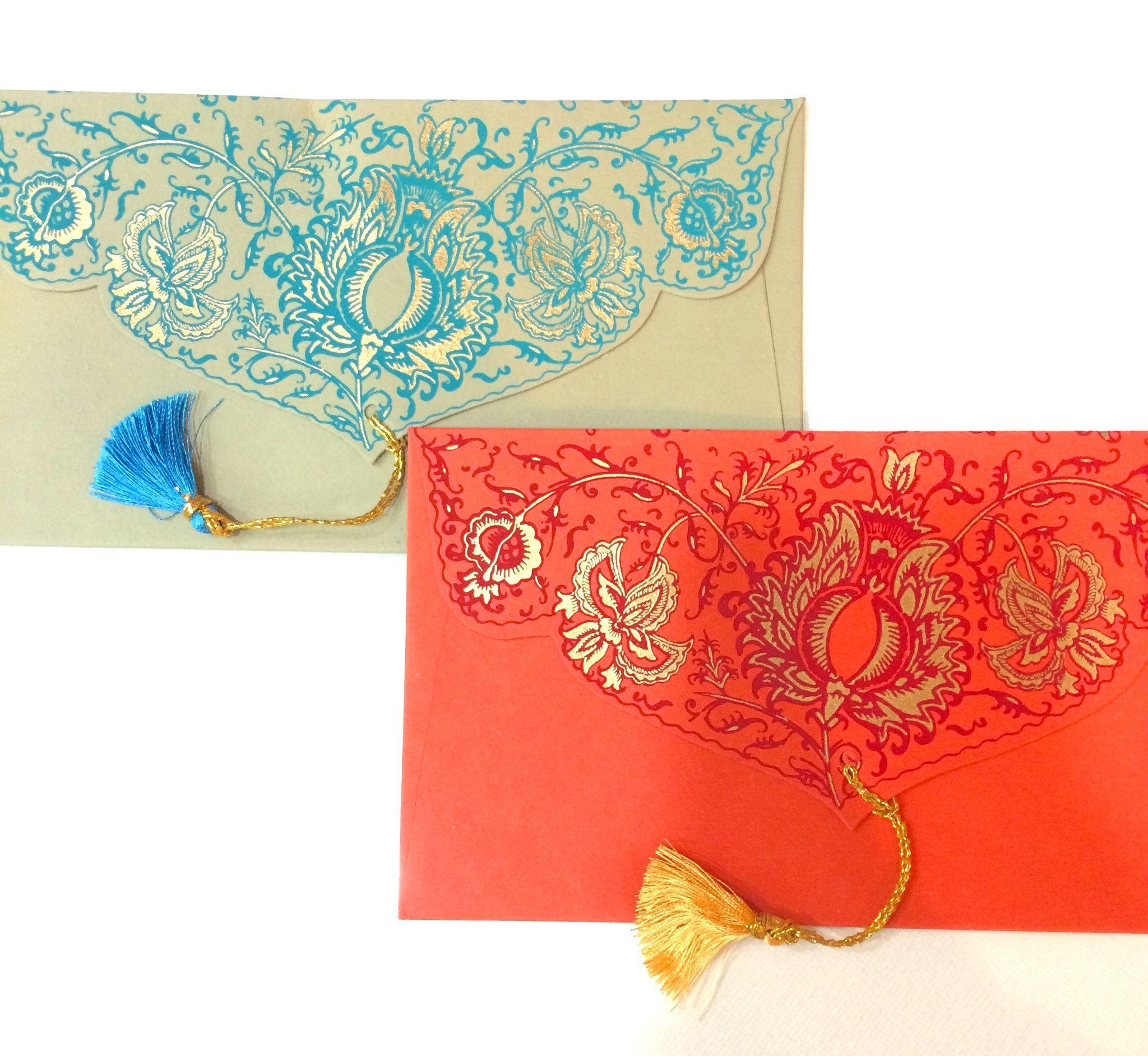 Tassel Gift Envelopes (Set of 5)   Envelopes, Tassels and Gift