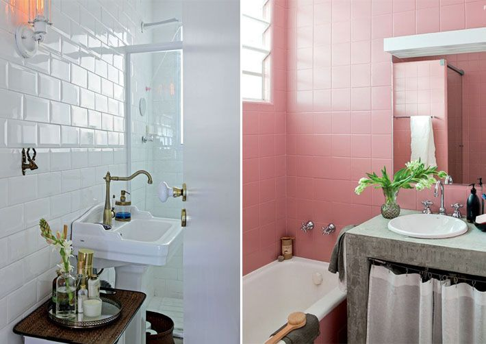 Tinta epóxi para piso e azulejo  Interiors -> Decoracao De Banheiro Piso E Azulejo