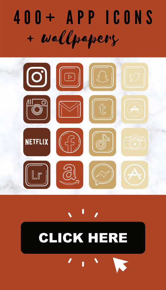 App icons fall for iPhone! ios 14 home screen ideas