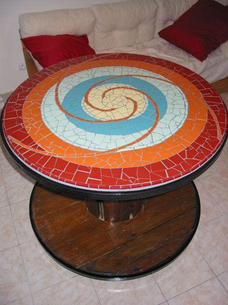 Pour une petite table de jardin ça peut être pas mal... | Ideas ...
