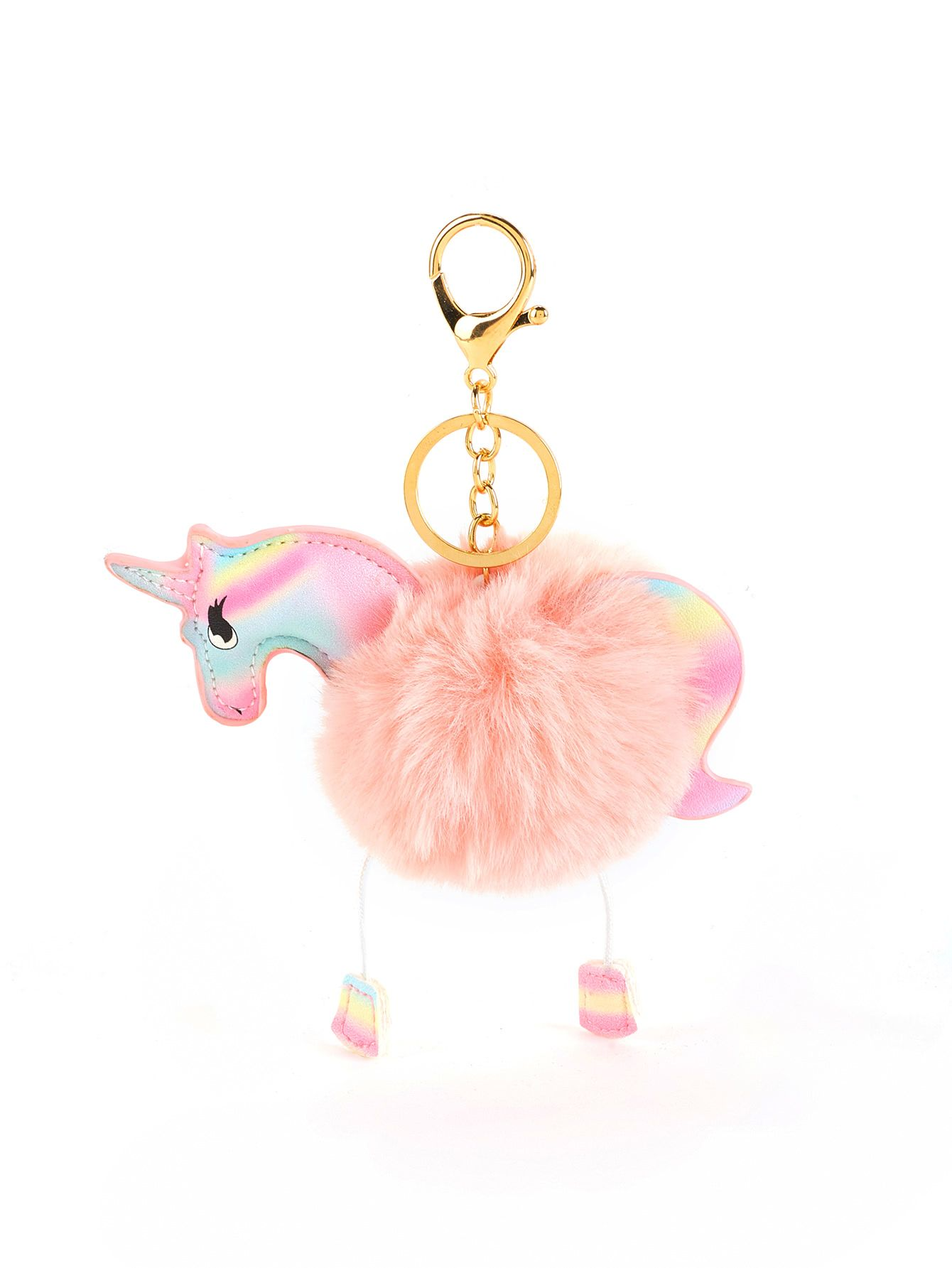 a5a3bdf000 Horse Design Keychain With Pom Pom in 2019 | Kennedy | Keychain ...