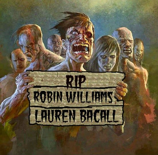 Zombob's Zombie News and Reviews: Hollywood loses two legends