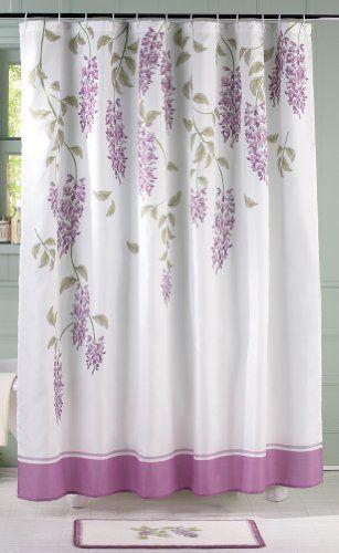 Floral Wisteria Shower Curtain Collections Etc Amazon Dp B00I664PBK Refcm Sw R Pi AlaJub0VXD2J0
