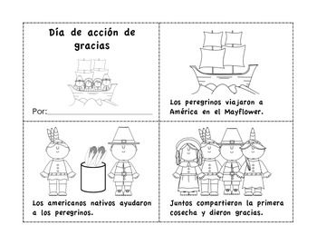 Bilingual Kinder Spanish Thanksgiving Spanish Thanksgiving Activities Elementary Spanish