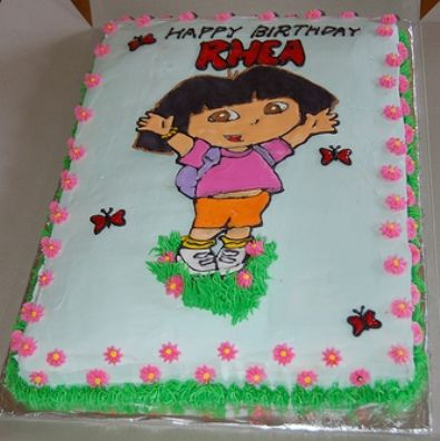 dora cakes kis cakes Pinterest Dora cake Cake and Dora