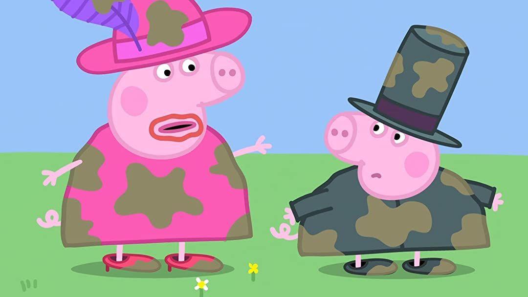 Wtf Pig Cooks Pork Mult Gde Pigi Zharyat Pigov Peppa Pig Wallpaper Pig Wallpaper Peppa Pig