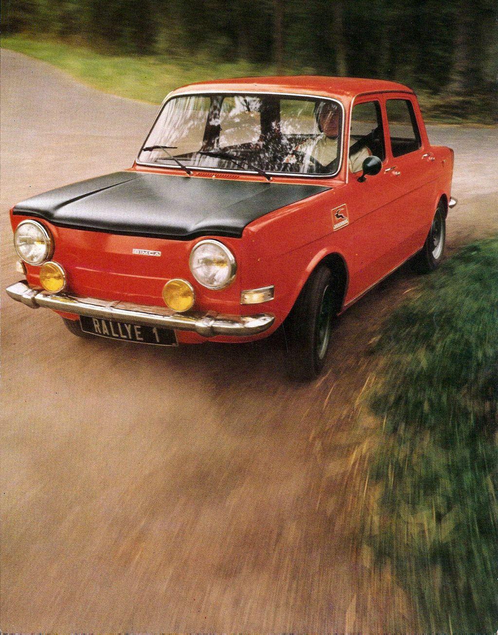 Simca 1000 Rallye 1 Gekocht In Het Jaar 1978 Voor 1000 Gulden