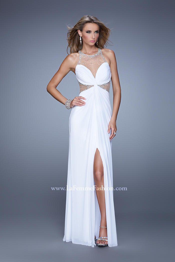 8d90447f8643 La Femme Dress 21355 | Terry Costa Dallas. La Femme Dress 21355 Black And White  Prom ...