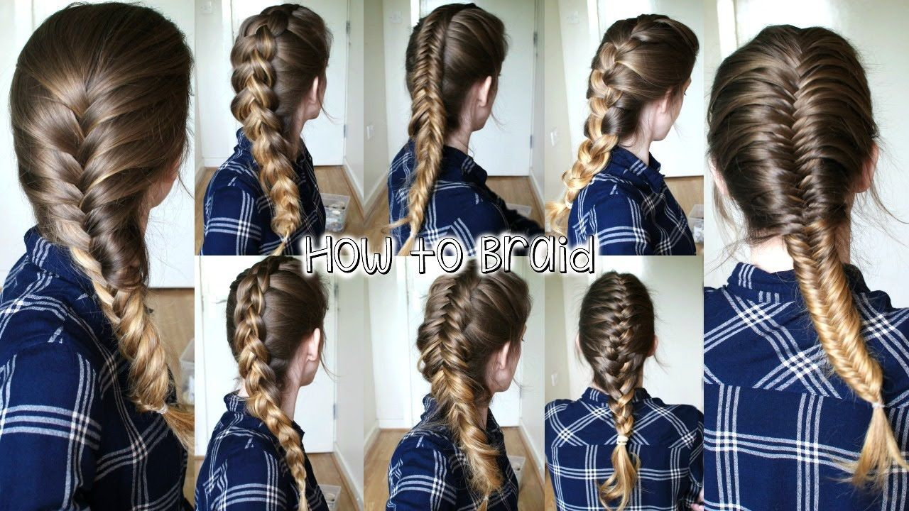 How To Braid Your Own Hair For Beginners Part 2 How To Braid Braidsandstyles12 Hair Braid Guide Braiding Your Own Hair Braided Hairstyles
