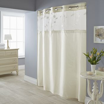 Serena 2 Pc Fabric Shower Curtain Liner Set Fabric Shower