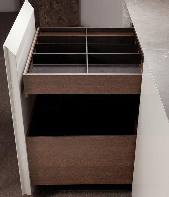 Kitchen drawer - minotti cucine