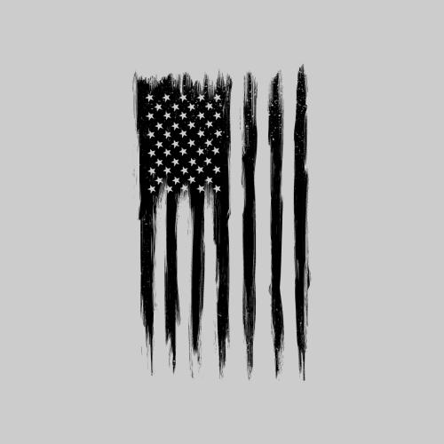 Black American Flag