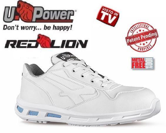 promo code 63698 627ce Dettagli su Scarpa U-POWER Red Lion BLINK scarpe da lavoro ...