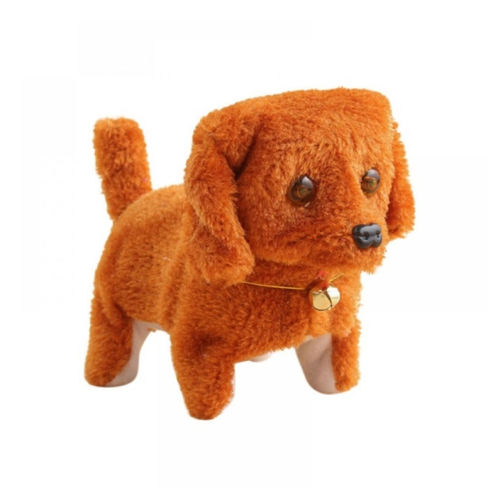 Kids Funny Toys Battery Powered Plush Walking Barking Electronic