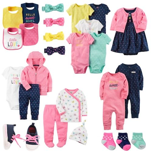 Kohls Baby Clothes Unique Baby Girl Carter's Little Sweetheart Mix & Match Collection From 2018