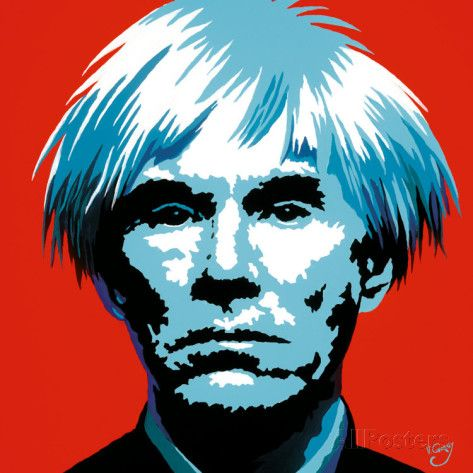 Andy Warhol Prints by Vladimir Gorsky at AllPosters.com | ANDY ...