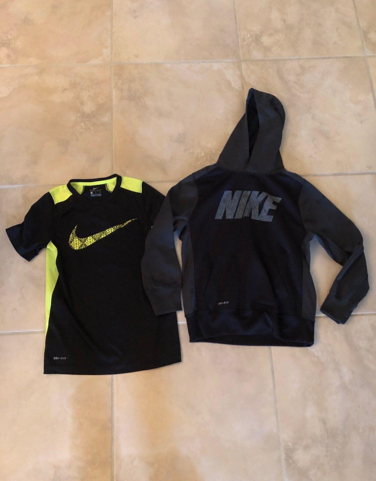 Boys Nike Dry Fit Sweatshirt Size Medium And Shirt Size Small Both In Excellent Condition Smoke Free Home Lots Of Sweatshirt Tops Boys Nike Kids Sweatshirt [ 1600 x 1251 Pixel ]
