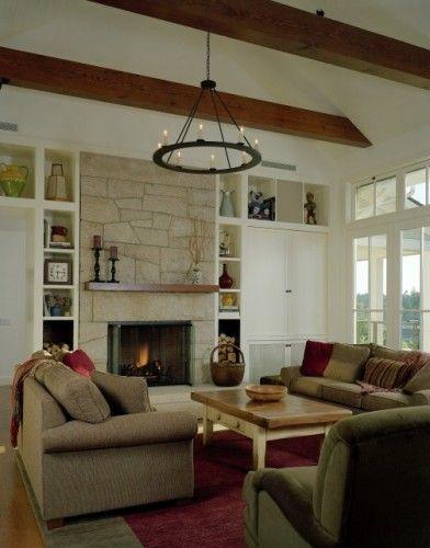 fireplace builtins