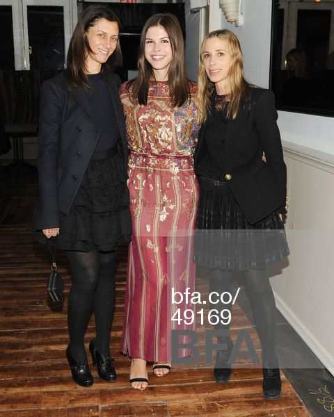 Sally Singer, Emily Weiss, Elissa Santisi at Lancôme party for IntoTheGloss.com hosted by Sally Singer, Elissa Santisi & Emily Weiss. #BFAnyc