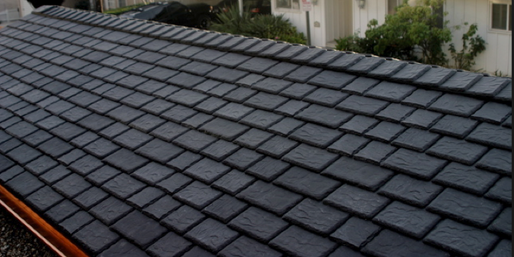 Recycled Tire Roof Roofing Slate Roof Roof Styles