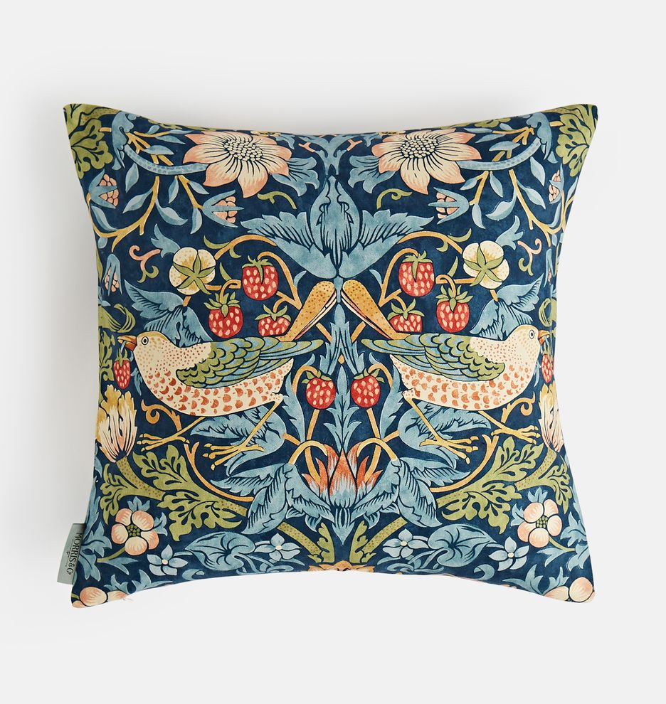 William Morris Strawberry Thief Pillow Cover in 2020 (With