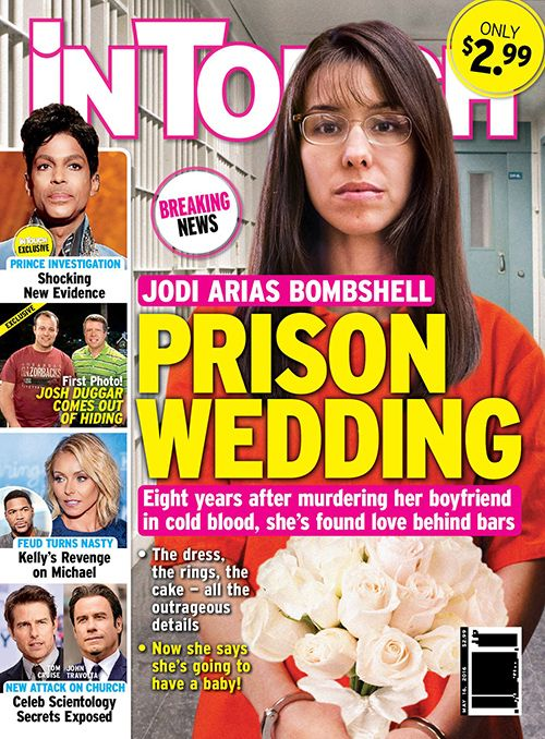 Jodi Arias Prison Wedding Will Marry Behind Bars Vows To Have