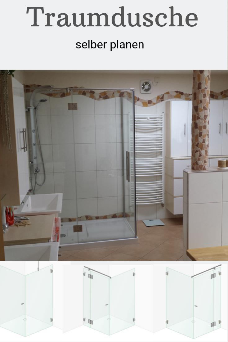 Planen Sie Fur Ihr Neues Badezimmer Die Duschkabine Selbst Die Neuen Online Tools Von Glasprofi24 Machen Es Ihnen Einfach Traumdusche Dusche Neues Badezimmer