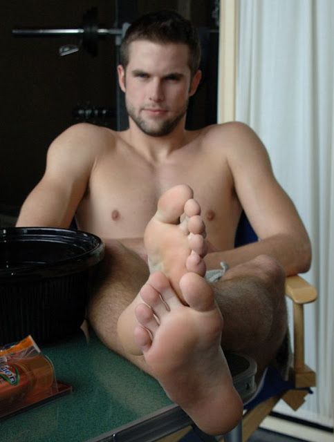 Sexy men with hot feet