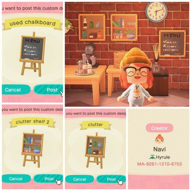 Red Kitchen Island Animal Crossing New Horizons - Kitchen ... on Kitchen Items Animal Crossing  id=56794