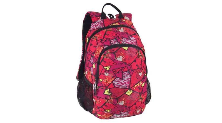 Pulse hátizsák Cots Square Heart piros - Ifjúsági hátizsák - Iskolatáskák cbb9624645