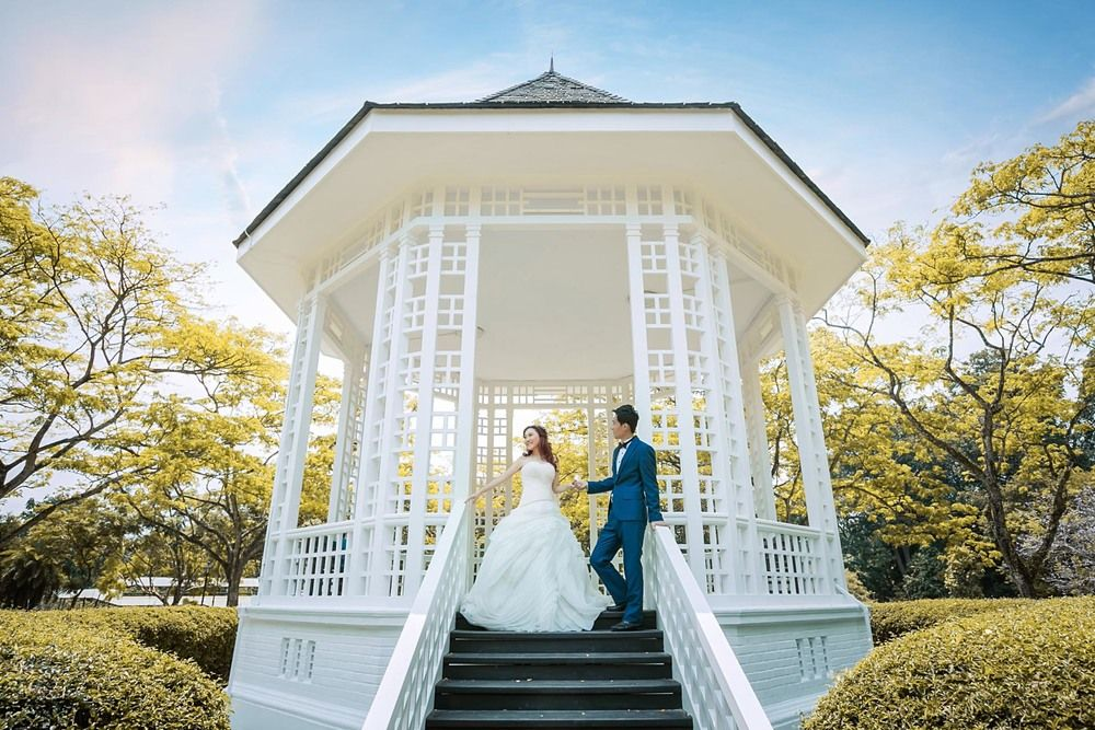 Pre Wedding Photography Botanic Garden Singapore Pre Wedding Photoshoot Prewedding Photography Wedding Photoshoot