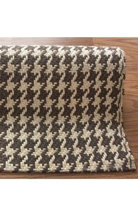 Rugs Usa Maui Houndstooth Brown Rug