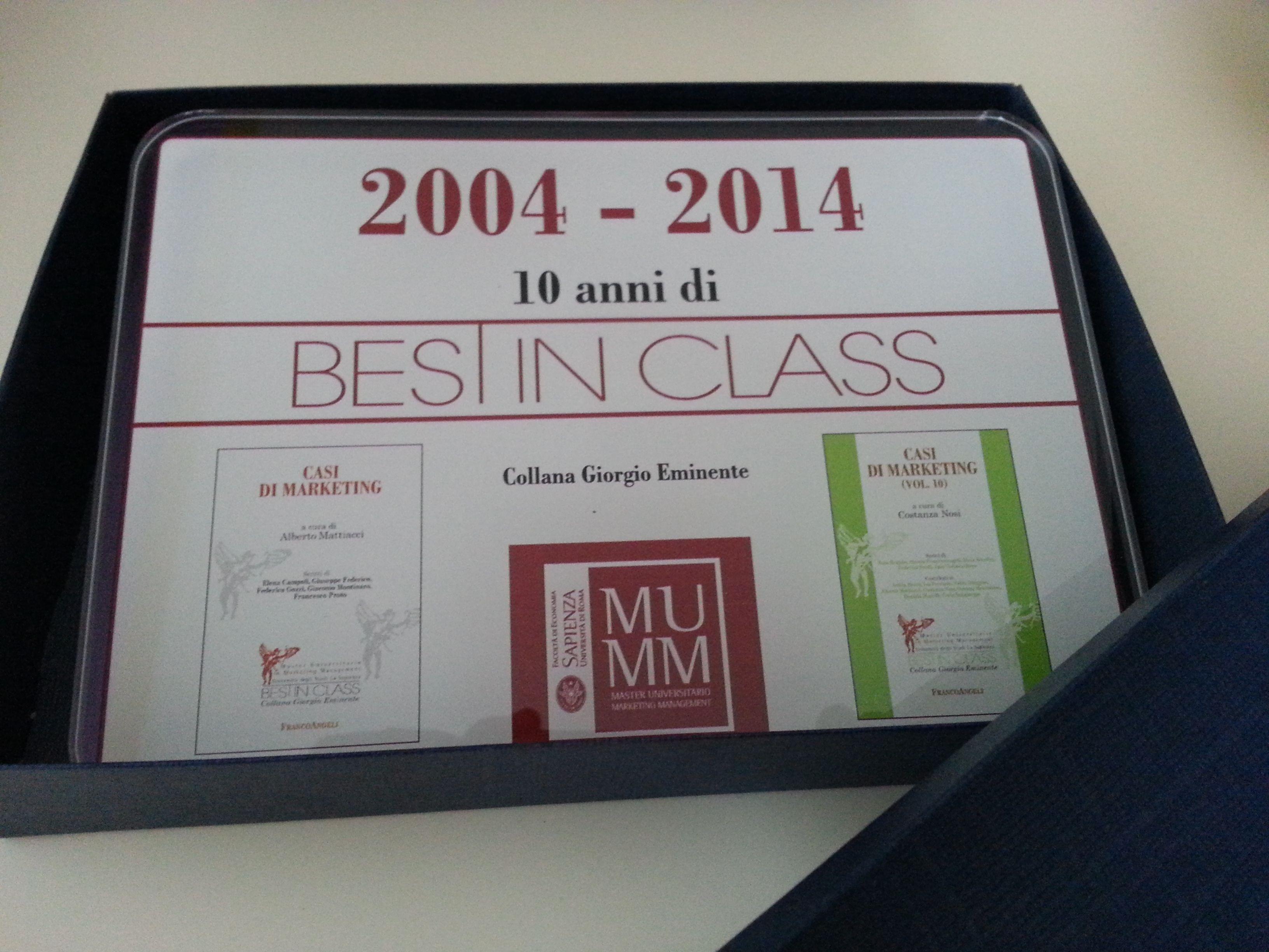 Best In Class -2004/2014