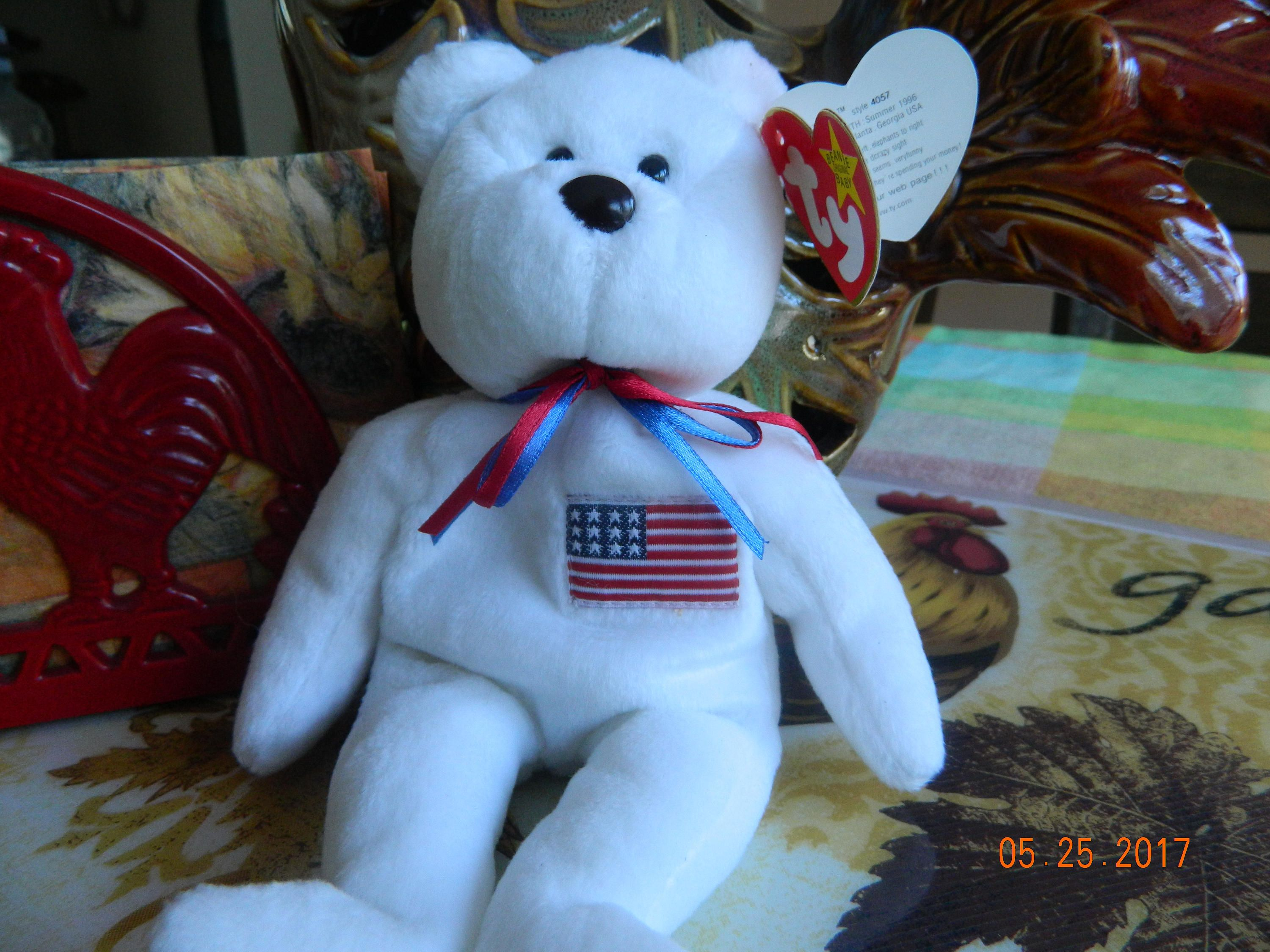 Libearty Beanie Baby with