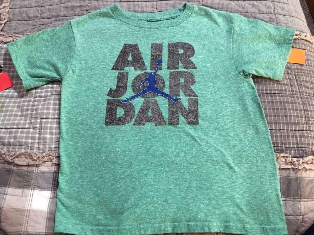 df1121770152 Nike Air Jordan Teal Jumpman Shirt Boys S Small 4 5  fashion  clothing   shoes  accessories  kidsclothingshoesaccs  boysclothingsizes4up (ebay link)