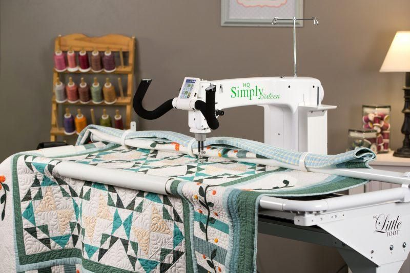 Long arm quilting machine for sale! Handi quilter simply