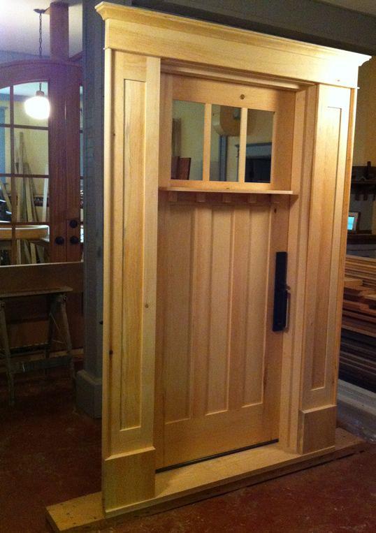 The Making Of Doors Wood Exterior Door Shaker Style Doors Doors