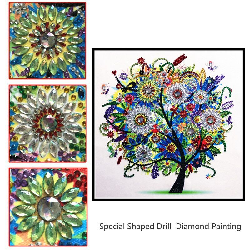 5D DIY Special Shaped Diamond Painting Parrot Cross Stitch Embroidery Kits BEST