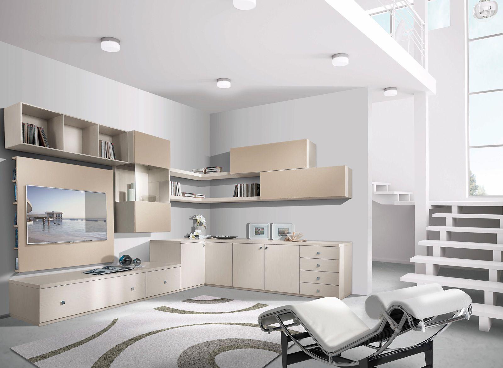 Librerie: pareti attrezzate multifunzione | Make a house a home ...