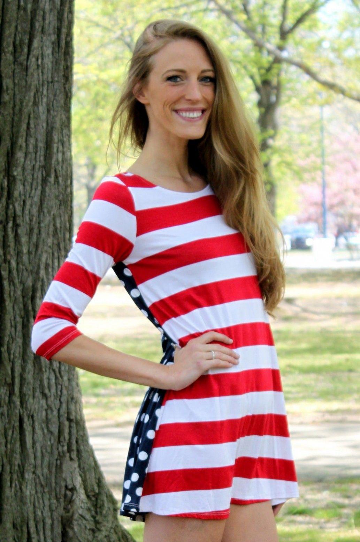 338d698c8a4 American Sweetheart Tunic Dress