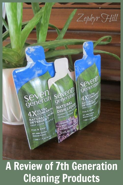 """7th Generation Cleaning Products: are they more natural and """"green"""" than other brands?"""
