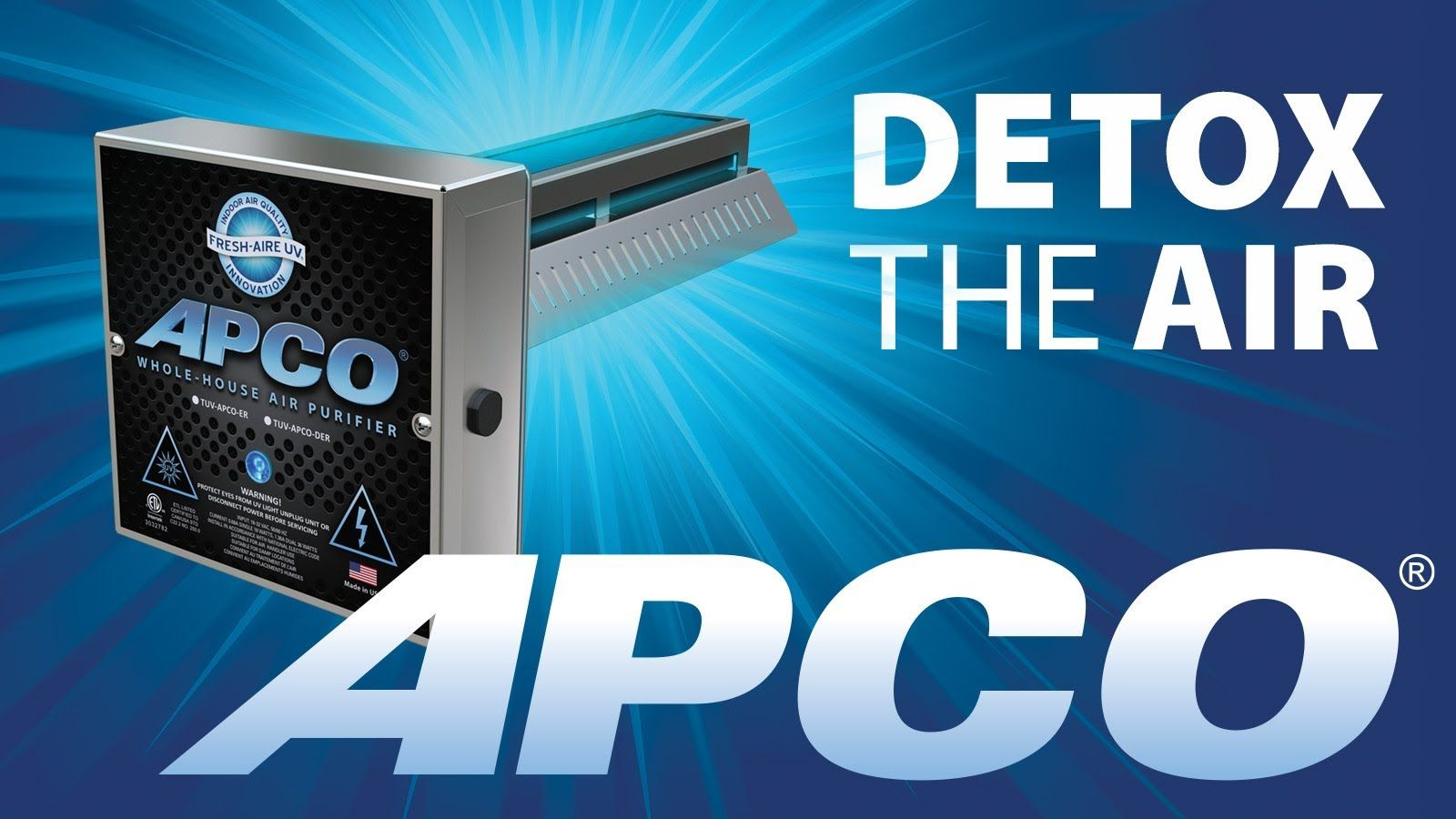 APCO WholeHouse Purifier from FreshAire UV (With images