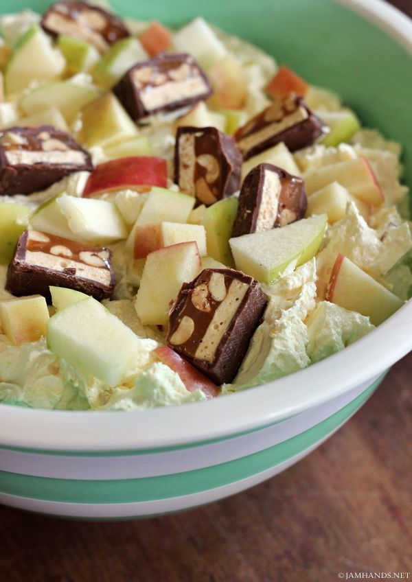 Jam Hands: Snickers Apple Salad