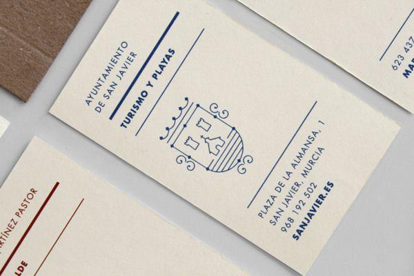 San Javier Emblem By Jose álvarez Carratalá Via Behance Business Cards And Flyers Stationery Printing Print Layout