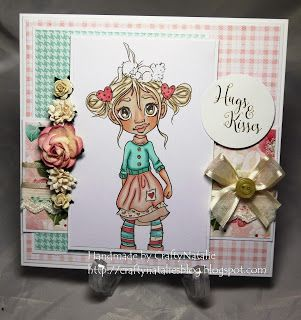 CraftyNatalie's Blog!: Creative Inspirations: Buttons, Blooms and Bows
