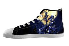 Kingdom Hearts High Top Shoes | SpreadShoes
