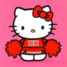 Hello Kitty Cheerleader Coloring Pages Google Search