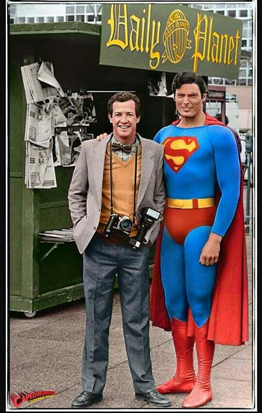 Superman Christopher Reeve Comic