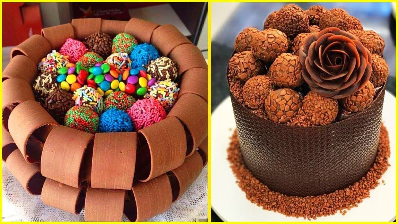 3 لن تصدقي كيف يبدعن في تزيين الكيك و الحلوى بطرق غريبة والنتيجة غي Cake Videos Youtube Amazing Cakes Cake Decorating